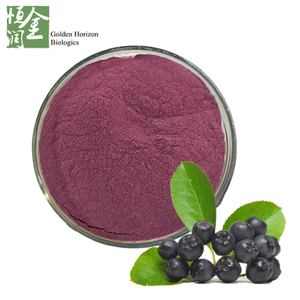 100% Natural Antioxidant Fruit Aronia Plant Extract Powder 25% Anthocyanin