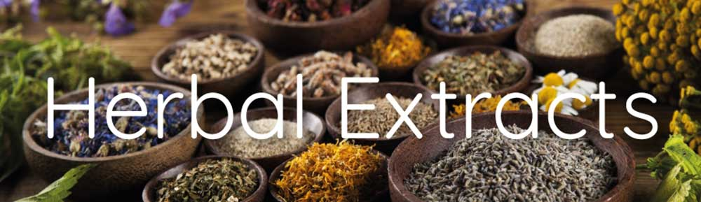 standardized herbal extracts