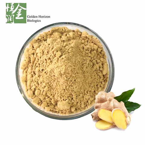 Factory Supplier Pure Ginger Root Powder Gingerol