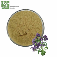 GMP Certified High Quality Medicago Sativa Extract Saponin/ Alfalfa Powder